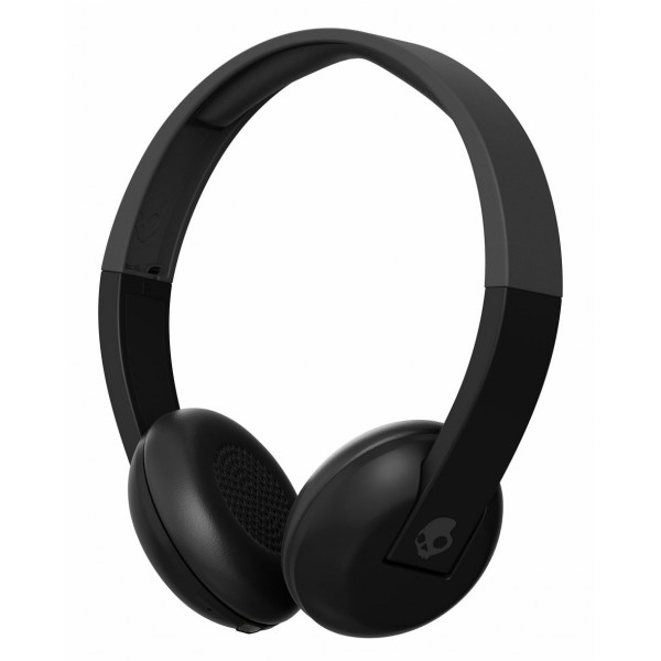 Skullcandy - Uproar - Nero - Cuffie Auricolari Bluetooth Wireless On-Ear con Microfono, Audio Supremo e Bassi Potenti