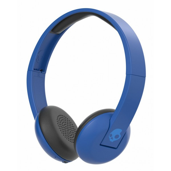 Skullcandy - Uproar - Famed Royal Blue - Bluetooth Wireless On-Ear Headphones with Microphone, Supreme Sound and Powerful Bass