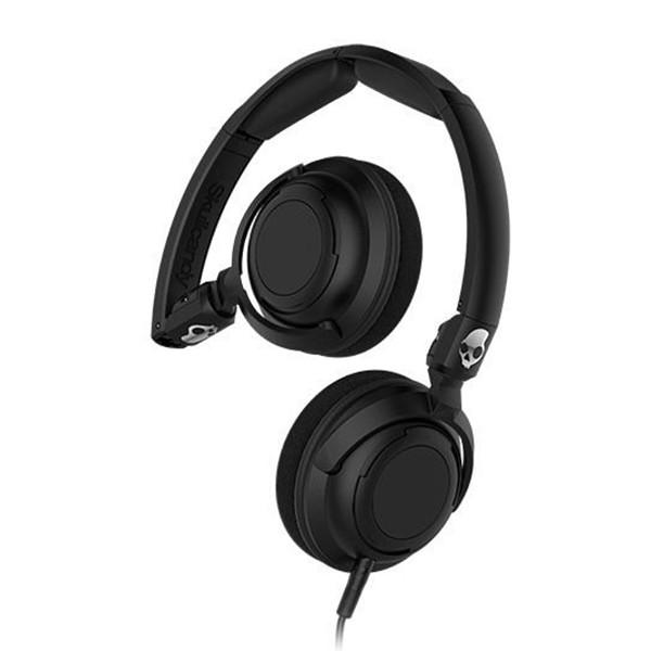 Skullcandy - Lowrider - Nero - Cuffie Auricolari On-Ear con Microfono