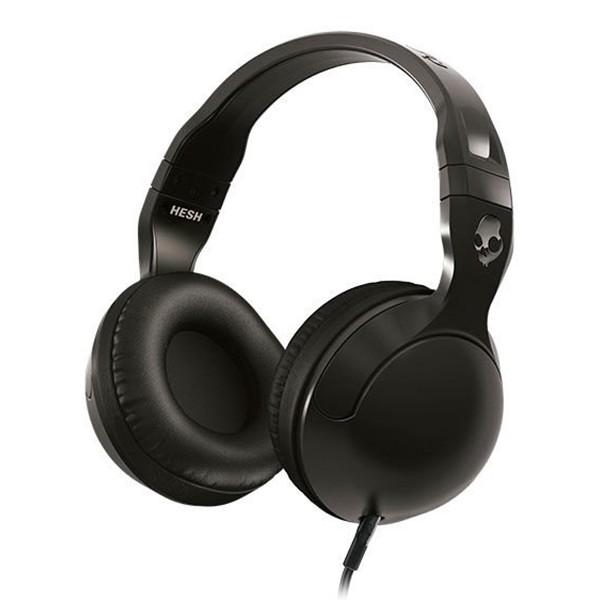Skullcandy - Hesh 2 - Nero / Gun Metal - Cuffie Auricolari Over-Ear con Microfono e Isolamento Acustico