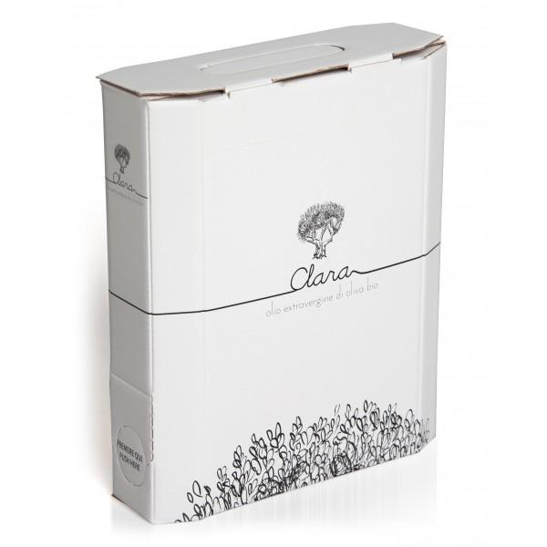 Olio Clara - Organic Extra Virgin Olive Oil - Blend Medium Fruity - 1 l