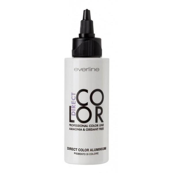 Everline - Hair Solution - Direct Color - Direct Color Alluminio - Professional Color Line - Senza Ammoniaca e Senza Ossidanti
