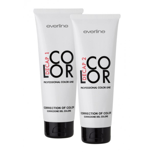 Everline - Hair Solution - Decap Color Kit - Pickling - Professional Color Line