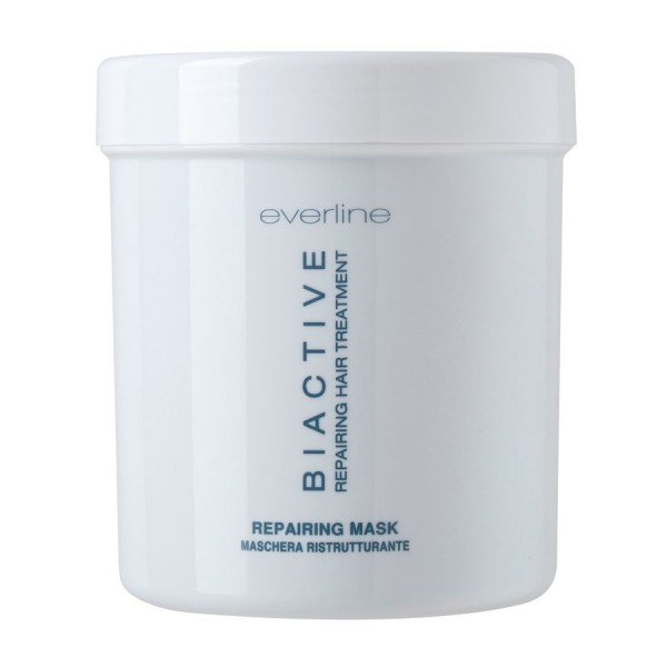 Everline - Hair Solution - Biactive Repairing Mask - Biactive - Trattamento Riparatore - Trattamenti Professionali - 1000 ml