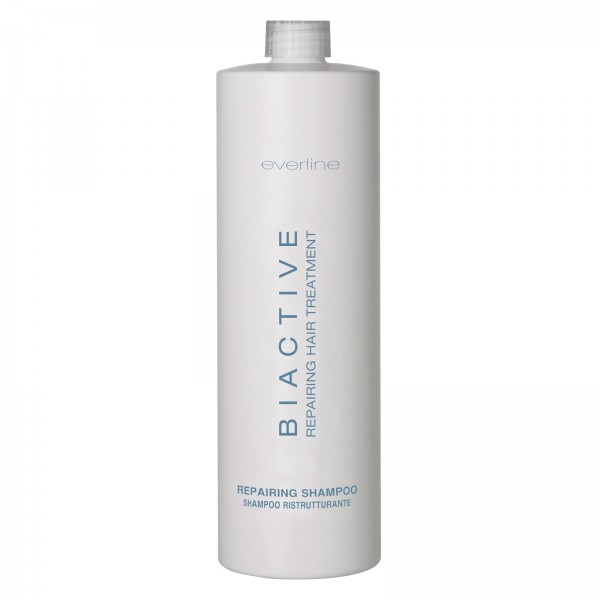 Everline - Hair Solution - Biactive Restructuring Shampoo - Biactive - Repairing Treatment - Professional Treatments