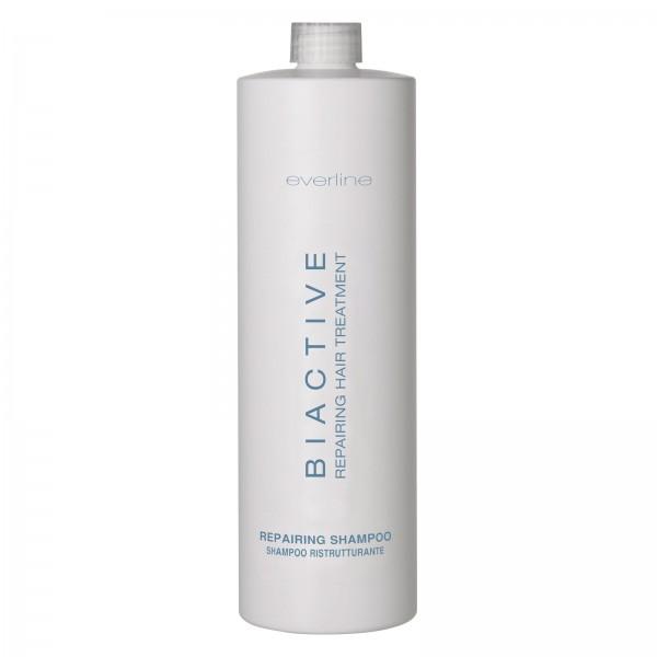 Everline - Hair Solution - Biactive Shampoo Ristrutturante - Biactive - Trattamento Riparatore - Trattamenti Professionali