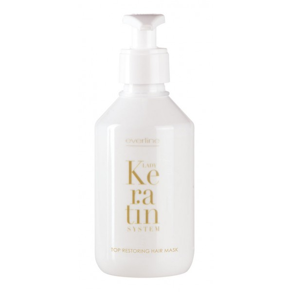 Everline - Hair Solution - Top Restoring Hair Mask - Lady Keratin - Keratin Restructuring - Professional Treatments