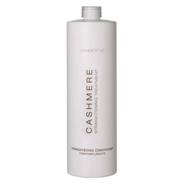 Everline - Hair Solution - Straightening Conditioner - Cashmere - Hair Straightening Treatment - Professional - 1000 ml