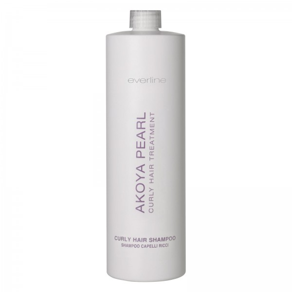 Everline - Hair Solution - Curly Hair Shampoo - Akoya Pearl - Trattamento Capelli Ricci - Professional - 1000 ml