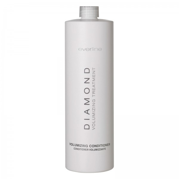 Everline - Hair Solution - Volumizing Conditioner - Diamond - Trattamento Volume Capelli - Professional - 1000 ml