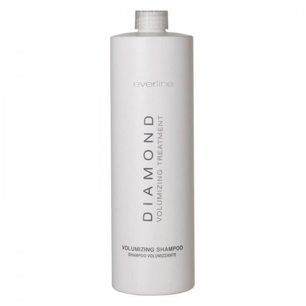 Everline - Hair Solution - Volumizing Shampoo - Diamond - Trattamento Volume Capelli - Professional - 1000 ml
