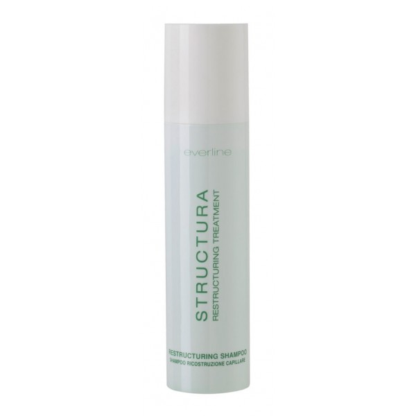 Everline - Hair Solution - Structura Restructuring Shampoo - Structura - Trattamento Ristrutturante Capelli - Professional