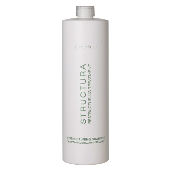 Everline - Hair Solution - Structura Restructuring Shampoo - Trattamento Ristrutturante Capelli - Professional - 1000 ml