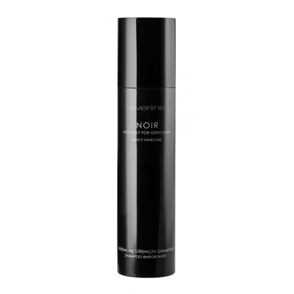 Everline - Hair Solution - Noir Evermore Strength Shampoo - Shampoo Rinforzante - Uomo - Noir & Noir Shaving - Professional