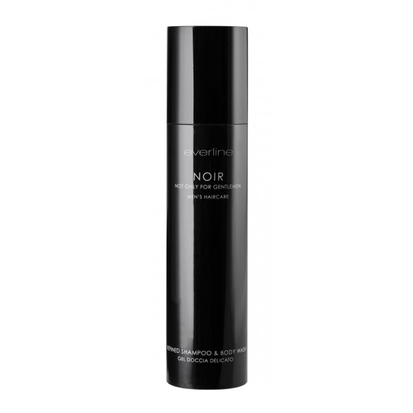 Everline - Hair Solution - Noir Refined Shampoo & Body Wash - Men - Noir & Noir Shaving - Professional Treatments