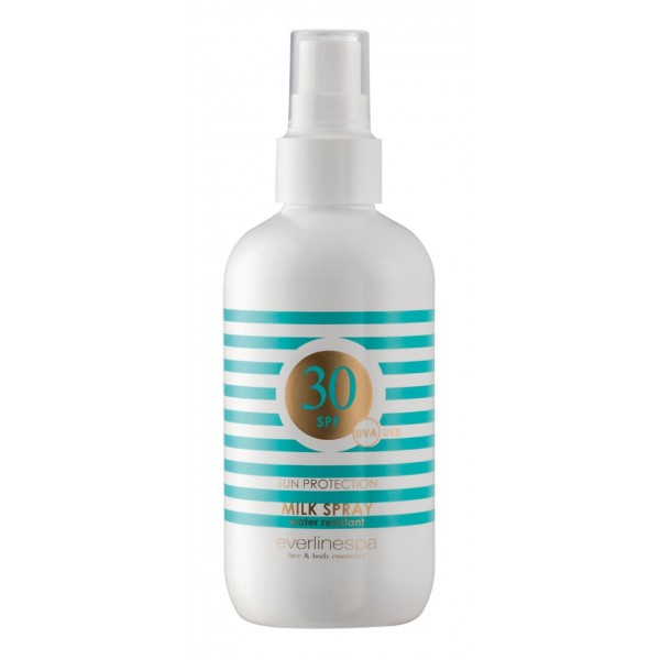 Everline Spa - Perfect Skin - Dry Oil Spray 30 SPF - Olio Solare Spray 30 SPF - Sun Protection - Cosmetici Professionali