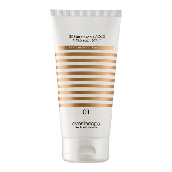 Everline Spa - Perfect Skin - Gold Body Scrub - Sun Protection - Professional Cosmetics