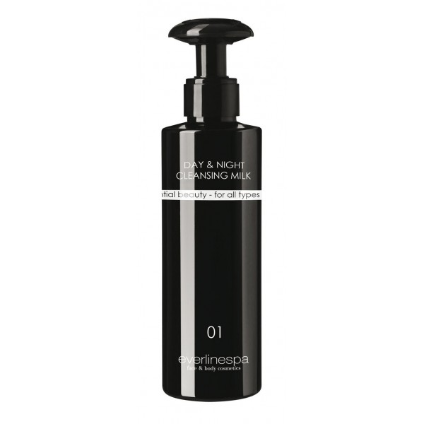 Everline Spa - Perfect Skin - Day & Night Cleansing Milk - Perfect Skin - Face - Professional Cosmetics