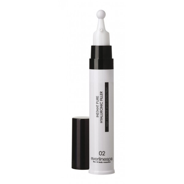 Everline Spa - Perfect Skin - Instant Pure Hyaluronic Filler - Lifting Eye & Lip Contour - Perfect Skin - Viso - Professional