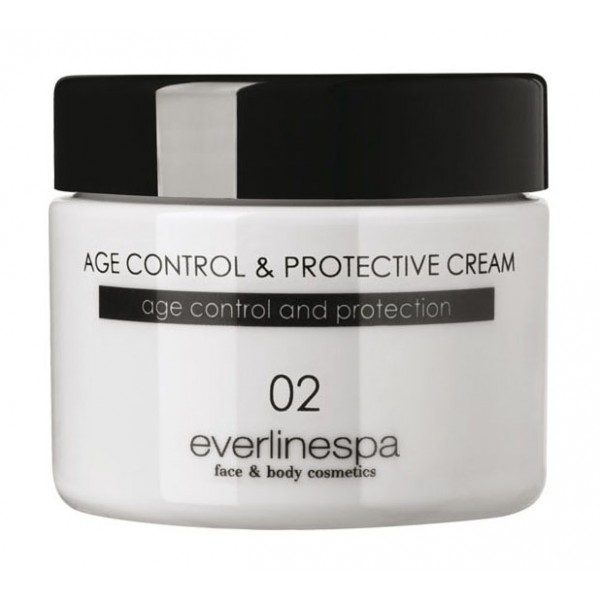 Everline Spa - Perfect Skin - Age Control & Protective Cream - Perfect Skin - Viso - Professional