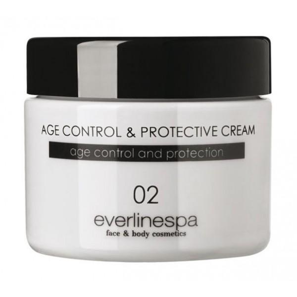 Everline Spa - Perfect Skin - Age Control & Protective Cream - Perfect Skin - Viso - Professional
