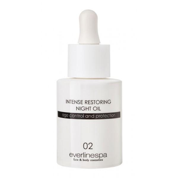 Everline Spa - Perfect Skin - Intense Restoring Night Oil - Perfect Skin - Viso - Professional