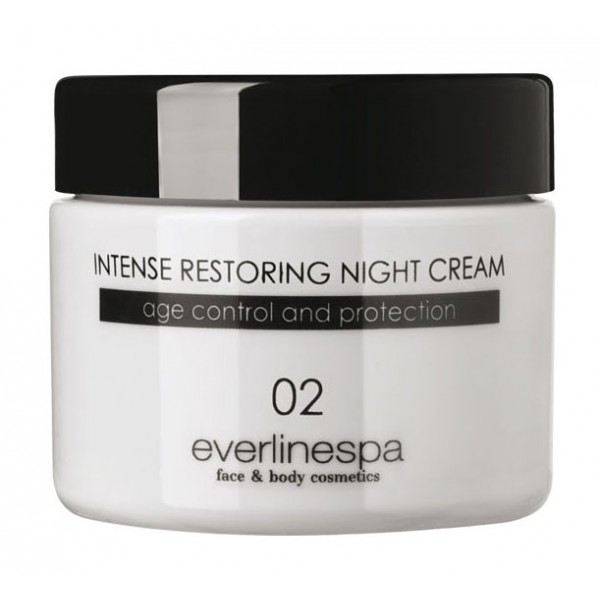 Everline Spa - Perfect Skin - Intense Restoring Night Cream - Perfect Skin - Face - Professional