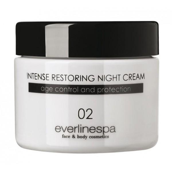 Everline Spa - Perfect Skin - Intense Restoring Night Cream - Perfect Skin - Viso - Professional