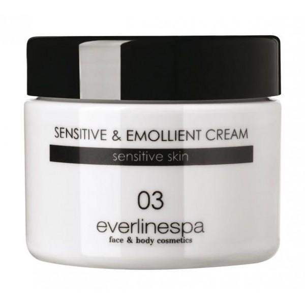 Everline Spa - Perfect Skin - Sensitive & Emollient Cream - Perfect Skin - Viso - Professional
