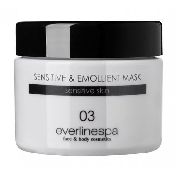Everline Spa - Perfect Skin - Sensitive & Emollient Mask - Perfect Skin - Viso - Professional