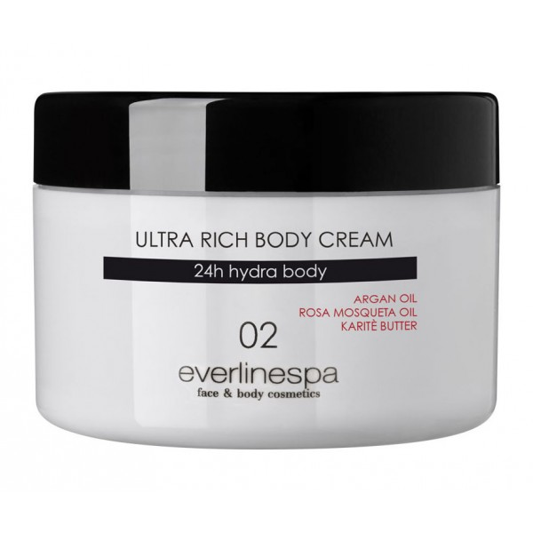 Everline Spa - Perfect Skin - Ultra Rich Body Cream - Perfect Skin - Corpo - Professional