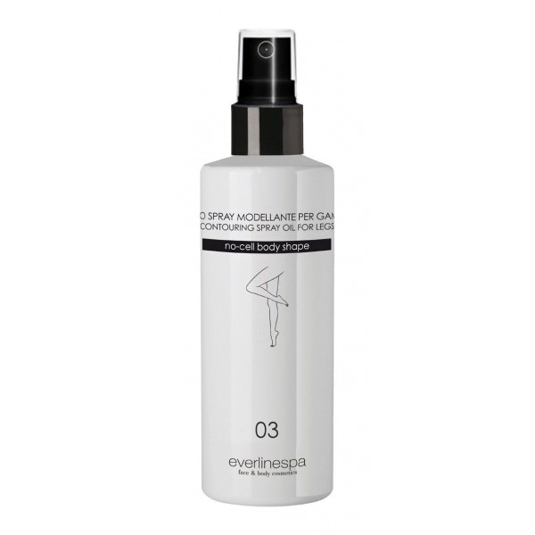 Everline Spa - Perfect Skin - Contouring Spray Oil For Legs - Perfect Skin - Body - Professional
