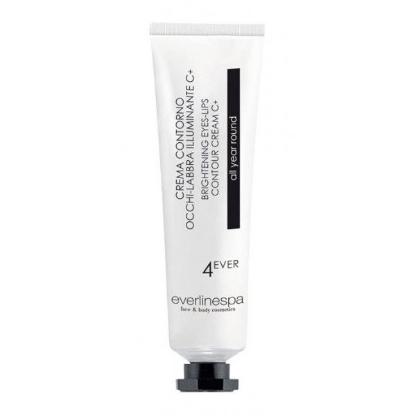 Everline Spa - Perfect Skin - Brightening Eyes-Lips Contour Cream C+ - 4 Ever - All Year Roun - Face - Professional Cosmetics