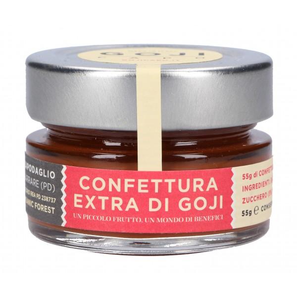 Goji Capo - Confettura di Goji 100 % Biologico - Composte Bio