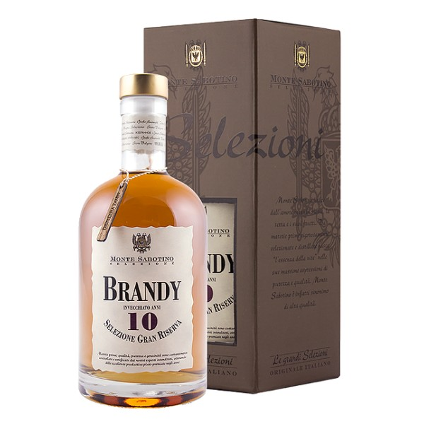 Zanin 1895 - Monte Sabotino - Brandy Grand Reserve 10 Years - Grand Selection - 40 % vol. - Spirit of Excellence