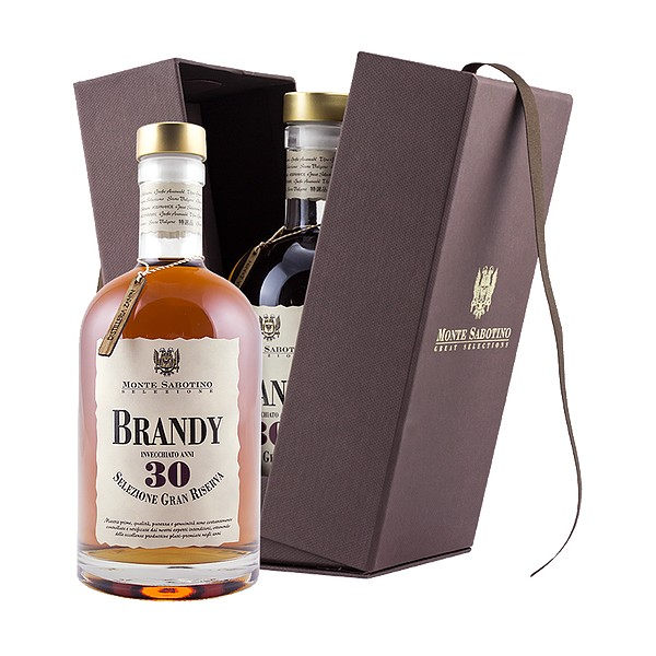 Zanin 1895 - Monte Sabotino - Brandy Grand Reserve 30 Years - Grand Selection - 40 % vol. - Spirit of Excellence
