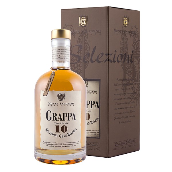 Zanin 1895 - Monte Sabotino - Brandy Grand Reserve 10 Years - Grand Selection - 40 % vol. - Spirit of Excellence