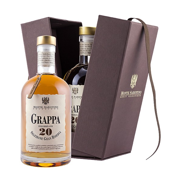 Zanin 1895 - Monte Sabotino - Grappa Gran Riserva 20 Anni - Selezione Gran Riserva - 40 % vol. - Spirit of Excellence