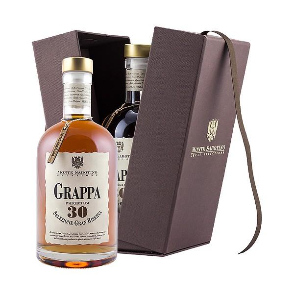 Zanin 1895 - Monte Sabotino - Grappa Gran Riserva 30 Anni - Selezione Gran Riserva - 40 % vol. - Spirit of Excellence