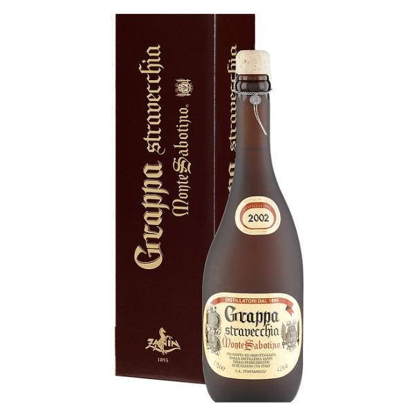 Zanin 1895 - Monte Sabotino - Grappa Stravecchia Vintage - Selezione Gran Riserva - 43 % vol. - Spirit of Excellence