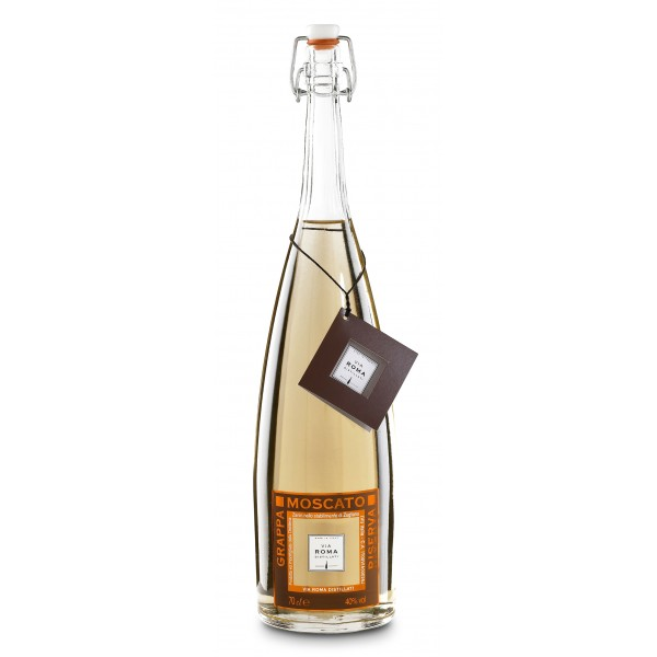 Zanin 1895 - Via Roma - Grappa di Moscato Riserva - 40 % vol. - Distillati - Spirit of Excellence