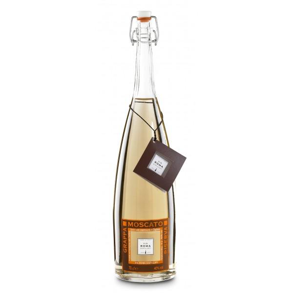 Zanin 1895 - Via Roma - Grappa of Moscato Reserve - 40 % vol. - Distillates - Spirit of Excellence