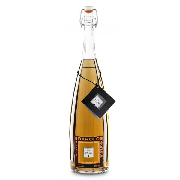 Zanin 1895 - Via Roma - Grappa of Barolo Reserve - 40 % vol. - Distillates - Spirit of Excellence