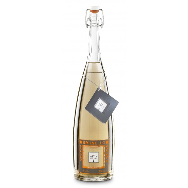Zanin 1895 - Via Roma - Grappa di Brunello Riserva - 40 % vol. - Distillati - Spirit of Excellence