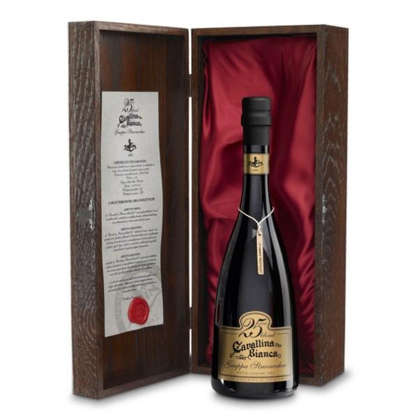 Zanin 1895 - Cavallina Bianca - Grappa Blend 25 - Grand Reserve 25 Year - 41,5 % vol. - Distillates - Spirit of Excellence
