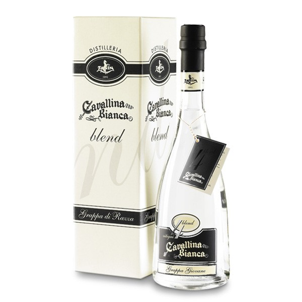 Zanin 1895 - Cavallina Bianca - Grappa Blend 4 - Grappa Giovane - 41.5 % vol. - Distillati - Spirit of Excellence