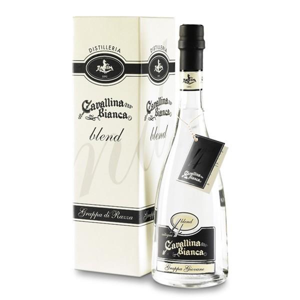 Zanin 1895 - Cavallina Bianca - Grappa Blend 4 - Grappa Giovane - Magnum - 41.5 % vol. - Distillati - Spirit of Excellence