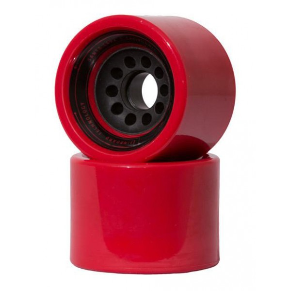 Inboard Technology - Inboard Front Wheel Kit for Inboard M1 - Red - Premium Electric Skateboard - Best Skateboard in The World