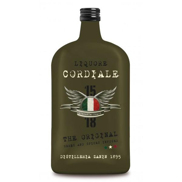 Zanin 1895 - Amarcord - Liquore Cordiale - The Original - 15 - 18 - 40 % vol. - Liquore Armonico Fortemente Speziato