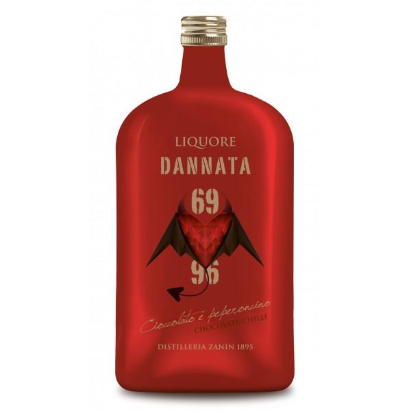 Zanin 1895 - Amarcord - Liquore Dannata - 69 - 96 - 25 % vol. - Chocolate and Chilli Infused Liquor